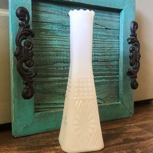 Milk White vase